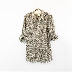 URBAN OUTFITTERS STARING AT STARS Chiffon Top